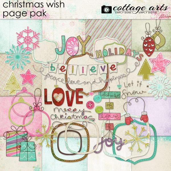 Christmas Wish Page Pak