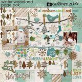 Winter Woodland Page Pak