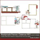 Readymade Frames Christmas No2