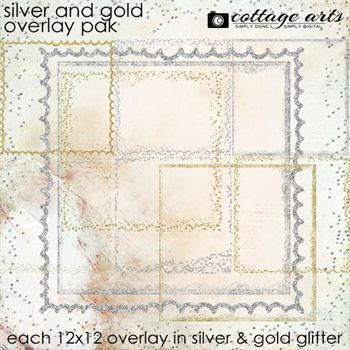 Silver & Gold Overlay Pak