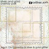 Silver & Gold Overlay Pak