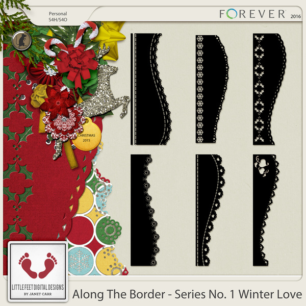 Along The Border - Series No. 1 Winter Love