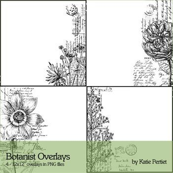 Botanist Overlays No1