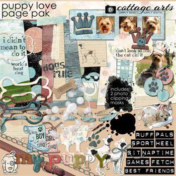 Puppy Love Page Pak