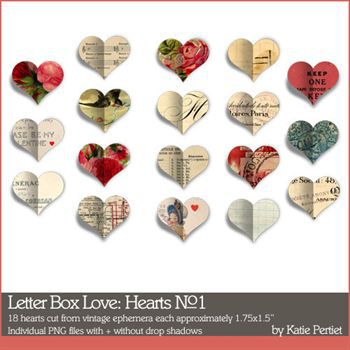 Letter Box Love Hearts