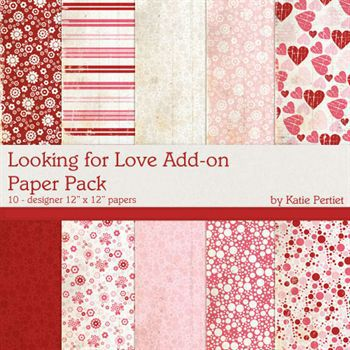 Looking For Love Add-on Paper Pack
