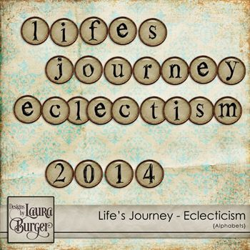 Life's Journey – Eclecticisms Alphabet Set
