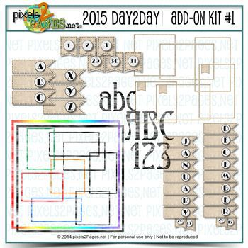 2015 Day2day Add-on Kit #1