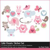Little Hearts Stickers
