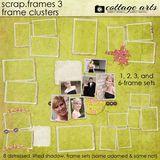 Scrap.frames 3 Frame Clusters