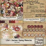 Life's Journey- Saving Memories Bundle