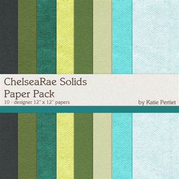 Chelsae Rae Solids Paper Pack