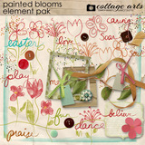Painted Blooms Element Pak