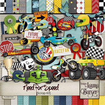 Need For Speed Scrap Kit