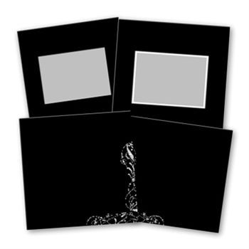 Basic Black 8x8 Digital Art - Digital Scrapbooking Kits