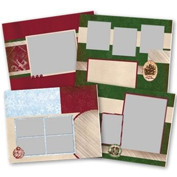Jewel Christmas Predesigned Pages 11x8.5