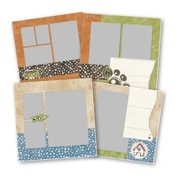 Pet Predesigned Pages 12x12