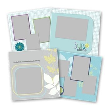 Reflections Seasons 12x12 Predesigned Pages