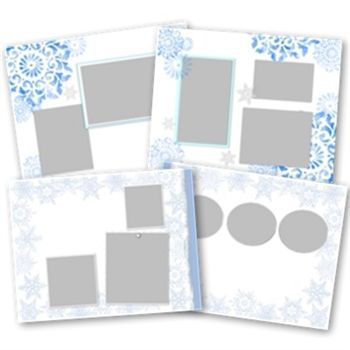Seasonal 11x8.5 Digital Predesigned Pages