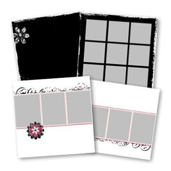 Simply Stylish Predesigned Pages 12x12