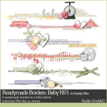 Readymade Borders Baby No.1
