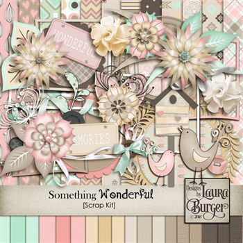 Something Wonderful Scrap Kit