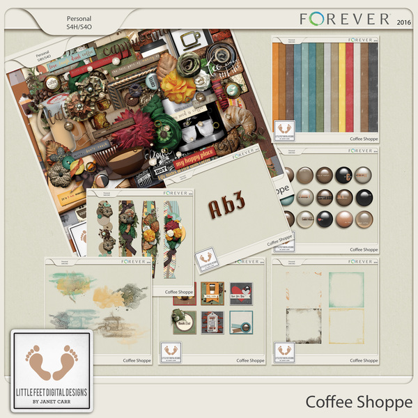 Coffee Shoppe Bundle