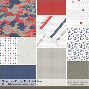 Watchet Add-on Paper Pack