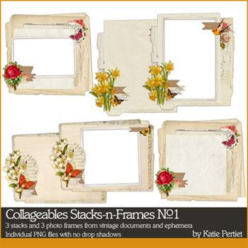 Collageables Stacks And Frames No. 01