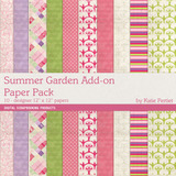 Summer Gardens Add-on Paper Pack