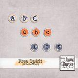 Free Spirit Alphabets Sets