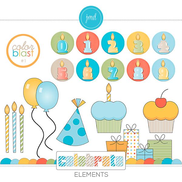 Color Blast 1 - Celebrate Elements