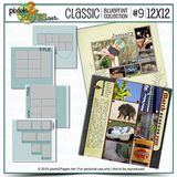 12x12 Classic Blueprint Collection #9