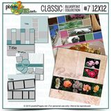 12x12 Classic Blueprint Collection #7