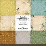 Botanist Workbook Paper Pack No. 04