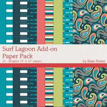 Surf Lagoon Add-on Paper Pack