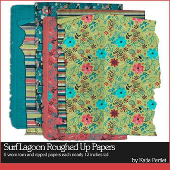 Surf Lagoon Roughed Up Papers No. 01