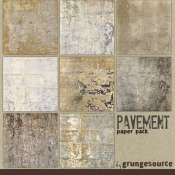 Pavement Paper Pack