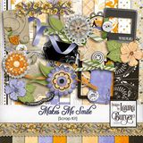 Makes Me Smile Scrap Kit