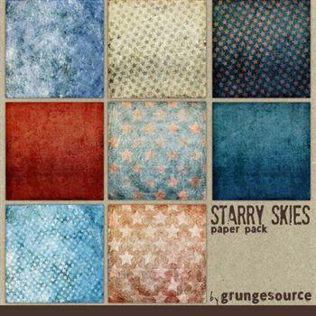 Starry Skies Paper Pack