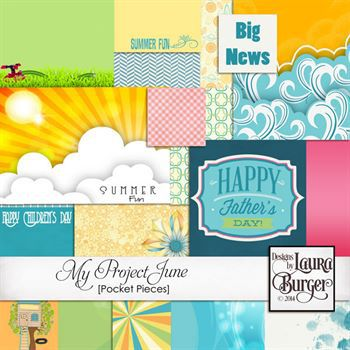 My Project June Pocket Pieces