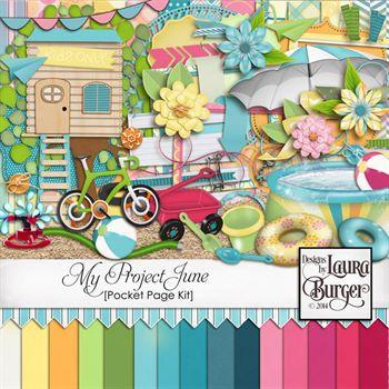 My Project June Scrap Kit