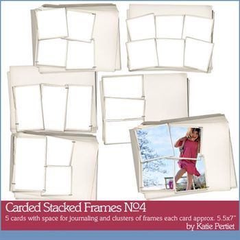 Carded Stacked Frames No. 04