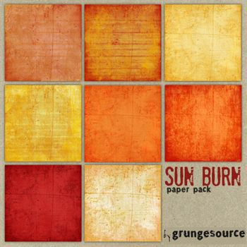 Sun Burn Paper Pack