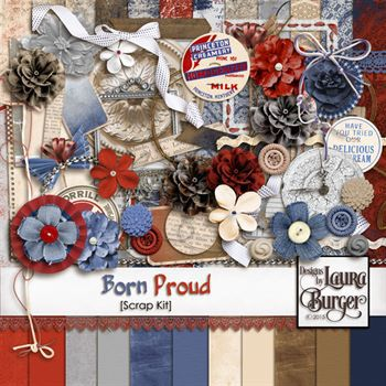Born Proud Scrap Kit