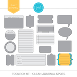 Toolbox Kit - Clean Journal Spots