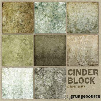 Cinder Block Paper Pack