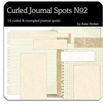 Curled Journal Spots No. 02