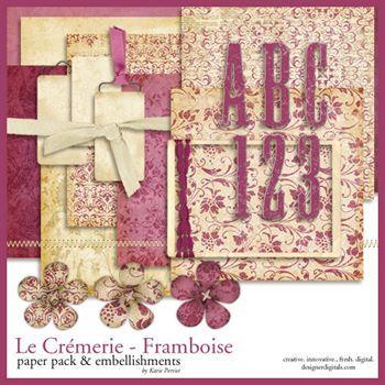 La Cremerie Framboise Kit