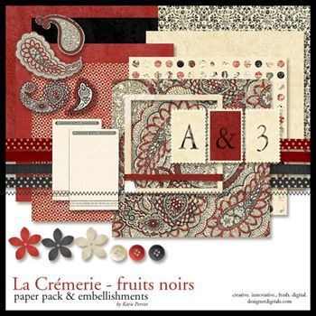 La Cremerie Fruits Noirs Kit